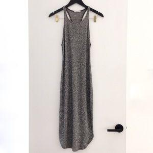 Grey Midi Racerback Dress